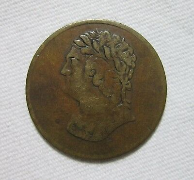 Lower Canada Token, 1820. Bust And Harp.