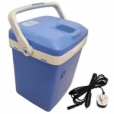 12V 26L Ac/dc Car Picnic Camping Portable Travel Warmer & Cooler Box Mini Fridge
