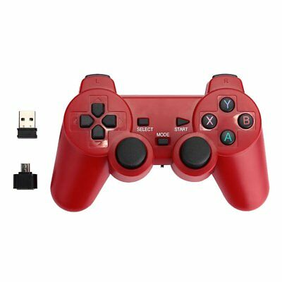 2.4GHz Wireless Dual Joystick Game Controller Joy-con For PS3 PC TV Box