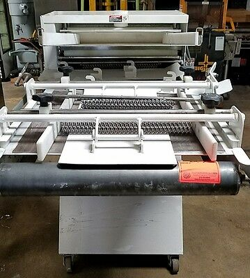 DBE Simplex Dough Sheeter Moulder Model 4-24