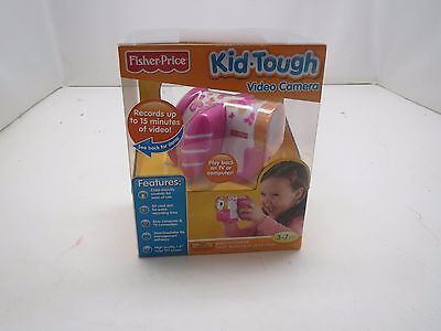 Fisher Price Kid Tough Video Camera  Pink  New