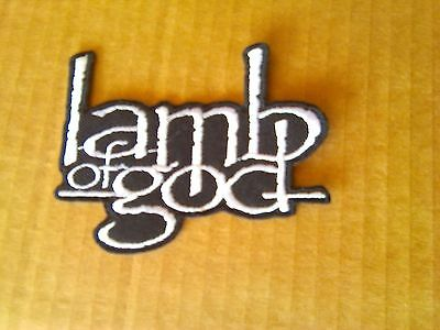 Lamb Of God,iron On White Embroidered Patch