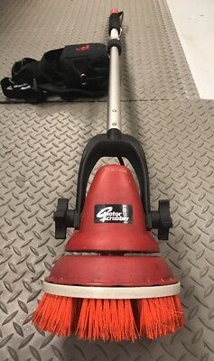 Motor Scrubber - MS4000 Hand Held Motorized Scrubber w/ Battery Pack