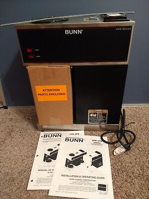 Bunn VPR Series - BLK PN:33200.0000 - 12 Coffee Cup Brewer Maker Commercial *NEW