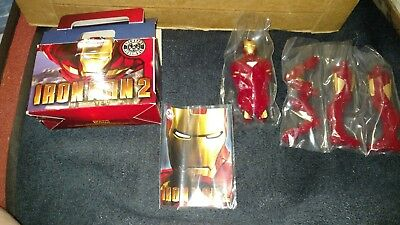 2010 Burger King Iron Man 2 Collectible Action Figure Kids Meal Toy