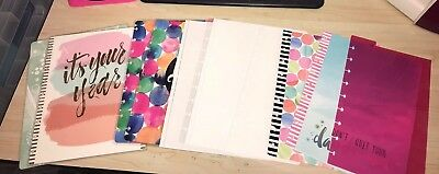 Classic Planner Supplies Lot
