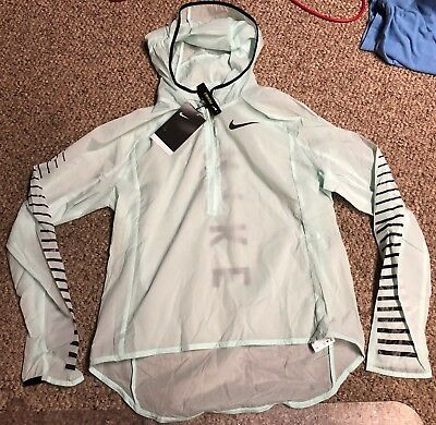 New Nike Impossibly Light Women's Packable Running Jacket Sz M 855645-357
