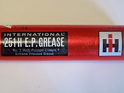 Rare Vintage Unopened IH International Harvester 251 H E.P. GREASE Tube Tractor