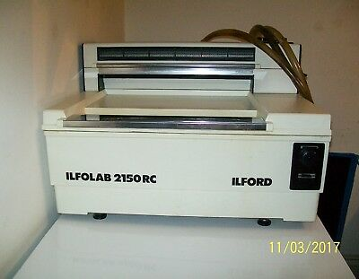ILFORD  2150 RC  Table Top Processor  Working Order
