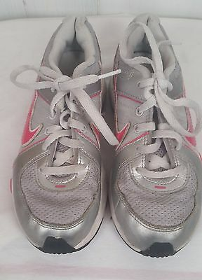 Nike T-RUN 5  KIDS sneakers tennis Shoes youth pink silver girls 1Y