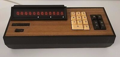 CASIO AS-A 121-A Desktop Calculator 60'S 70'S Medium-Scale IC-Based Very Rare!
