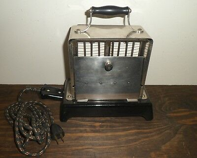 Simplex T211 Antique Toaster Early 1900's With Cord Works Fallout 3 & New Vegas