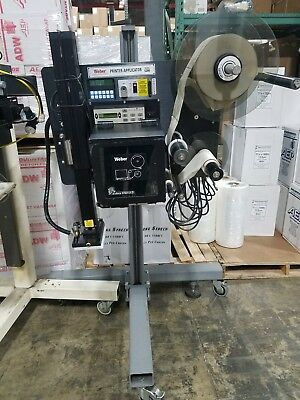 Weber 5200 Printer Applicator