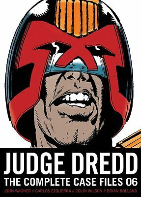 2000 AD: Judge Dredd Complete Case Files Vol 6 TPB (2013 Ed, 336 pages, Neuware)