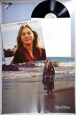 Judy Collins - Colors of the Day (1972) Vinyl LP + POSTER • Best of