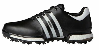 a523e9420a70 Adidas Tour360 Boost 2.0 Golf Shoe Mens Q44945 Black white Medium Width New  2018