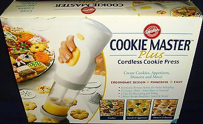 Brand New in Box•Wilton•Cookie Master Plus•Cordless Cookie Press•New•Unused•Rare