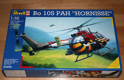 "1:32 Revell 04453 Bo 105 PAH ""HORNISSE"" in OVP TOP 1999"