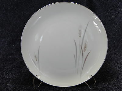 """Fine China of Japan Platinum Wheat Dinner Plate 10 1/4"""" EXCELLENT"""