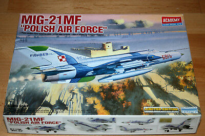 1:48 ACADEMY 12224 MIG-21MF POLISH AIR FORCE TOP Limited Edition Photoätzteile