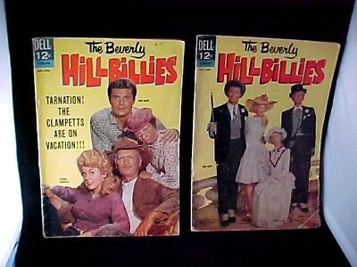 1964 Issue 5 and 7 The Beverly Hillbillies Dell 12 Cent Comic Book VG Cond FS