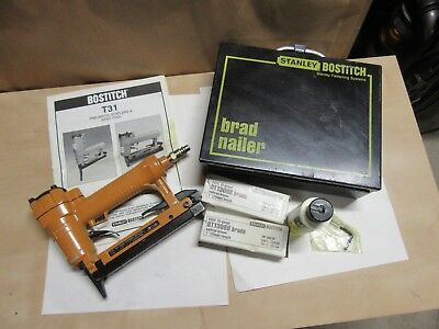 Bostitch T31 Pneumatic Staplers &brad Tool Plus