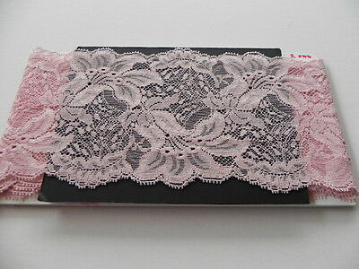 Card of New Stretch Lace - Pink