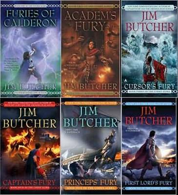 6 Unabridged Audiobooks - Codex Alera - Complete Series  By Jim Butcher Mp3 Dvd