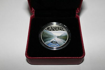 1/2 oz Silver Coin- Celebrating Canada's 150th Coin: Kayaking on the River 2016