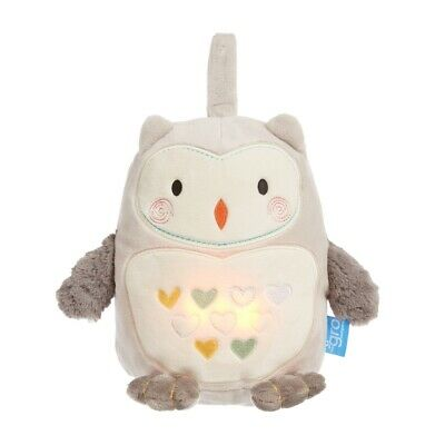 Grofriend Ollie The Owl Soother Sound And Light Gro Company