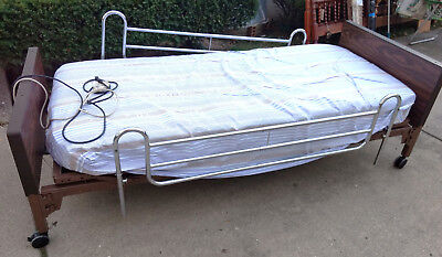 Electric Operated Hospital Bed with Rails  L@@K!