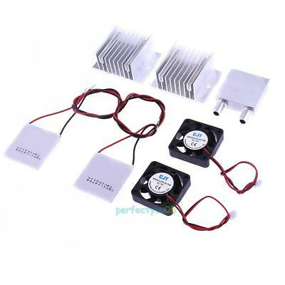 Thermoelectric Peltier Module Water Cooler Cooling System DIY Kit Set TEC1-12706