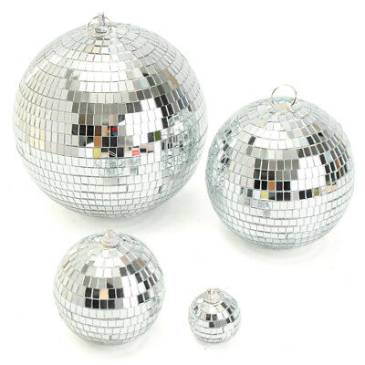 Silver Disco Reflective Ball-Mirror Glass Dance Party Stage Light-High Qquality