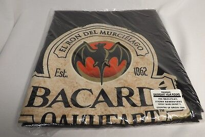 """Bacardi Oakheart Rum""    60"" x 60"" Tablecloth Table Cloth NEW NEW"