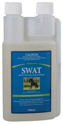 Pharmachem SWAT Insecticide Low Irritant Formula for Horse Equine Health 500ml