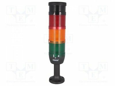 1 pcs Signaller: tower; buzzer, flashing light; Usup:24VDC; Usup:24VAC