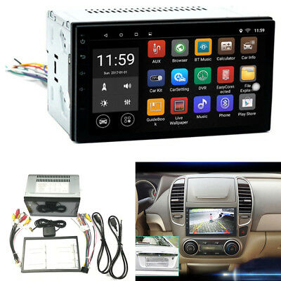 """2DIN 7"""" 3D Car GPS Sat Nav Stereo Touch Player Wifi CAN Andriod 6.0 AM/FM Radio"""