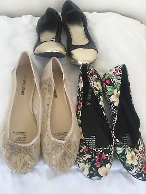 Flatties Shoes Size 8 Bulk