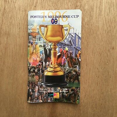 1996 Melbourne Cup Race Book