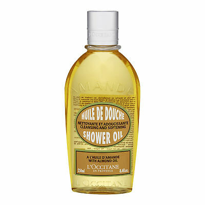 L'Occitane Almond Shower Oil 250ml Body Bath Cleansing Soothing Softening