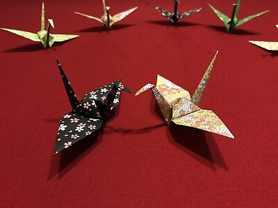 Origami Crane Paper 50 Large - Art - Decoration - Gift - Handcrafted