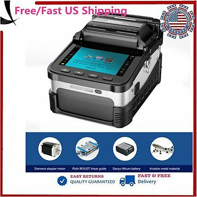 AI-7 Optical Fiber Fusion Splicer Automatic Focus Function Free/Fast Shipping ZE