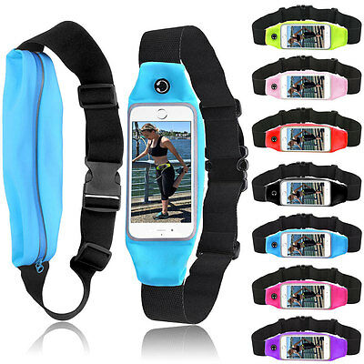 Sport Outdoor Running Gym Waist Belt Bag Cover Case Pouch For iPhone 6 6s 7 Plus