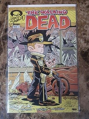 The Walking Dead #103 - Signed Chris Giarrusso - Dynamic Forces - NM