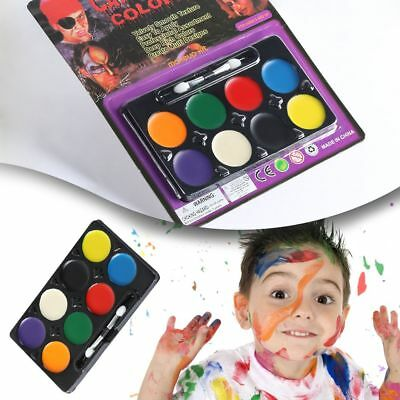 Face Graffiti Primer Halloween Christmas Party Makeup Non-toxic Water Oil Paint