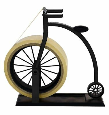 Vintage Penny Farthing Cycle Tape Dispenser Office Stationery Sticky Tape