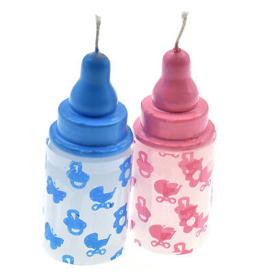 1pc Bottle Baby 3D Candle Baby Shower Favor Gift Party Decoration Recuerdos