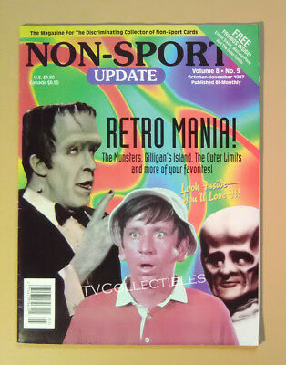 Magazine NON-SPORT UPDATE ~October 1997 ~Munsters~Gilligan's Island~Outer Limits