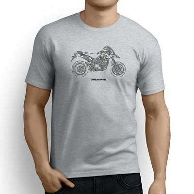 Ducati Hypermotard1100 EVO SP Corse Edition 2012 Inspired Motorcycle Art Men's T