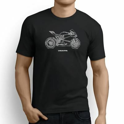 Ducati 1198 Panigale R 2016 Inspired Motorcycle Art Men's T-Shirt